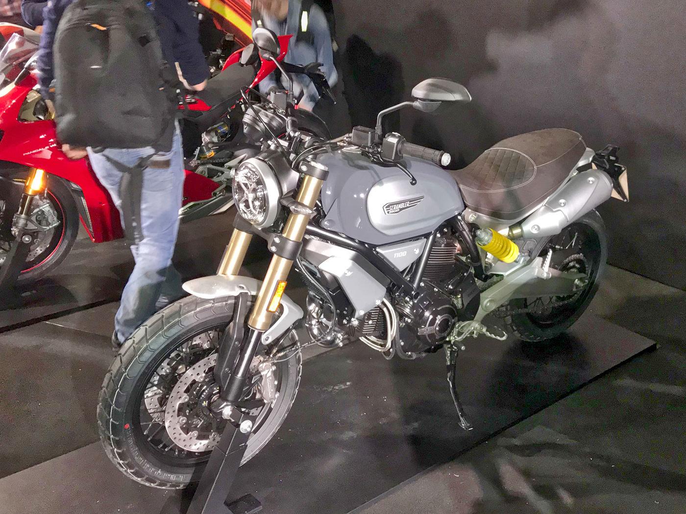 Ducati Scrambler si fa grande e arriva a 1100