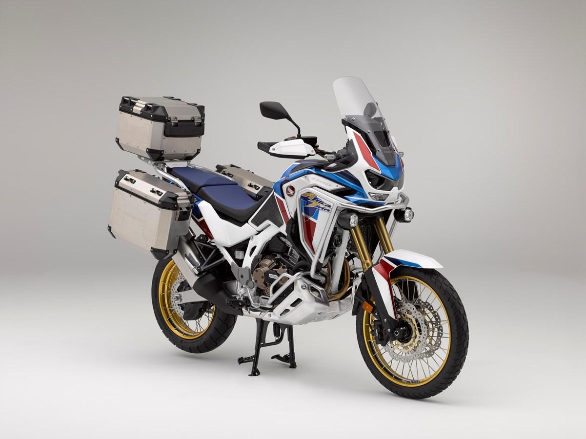 Honda Africa Twin Adventure Sports Promozione Honda Comfort in viaggio per chi ama viaggiare in coppia
