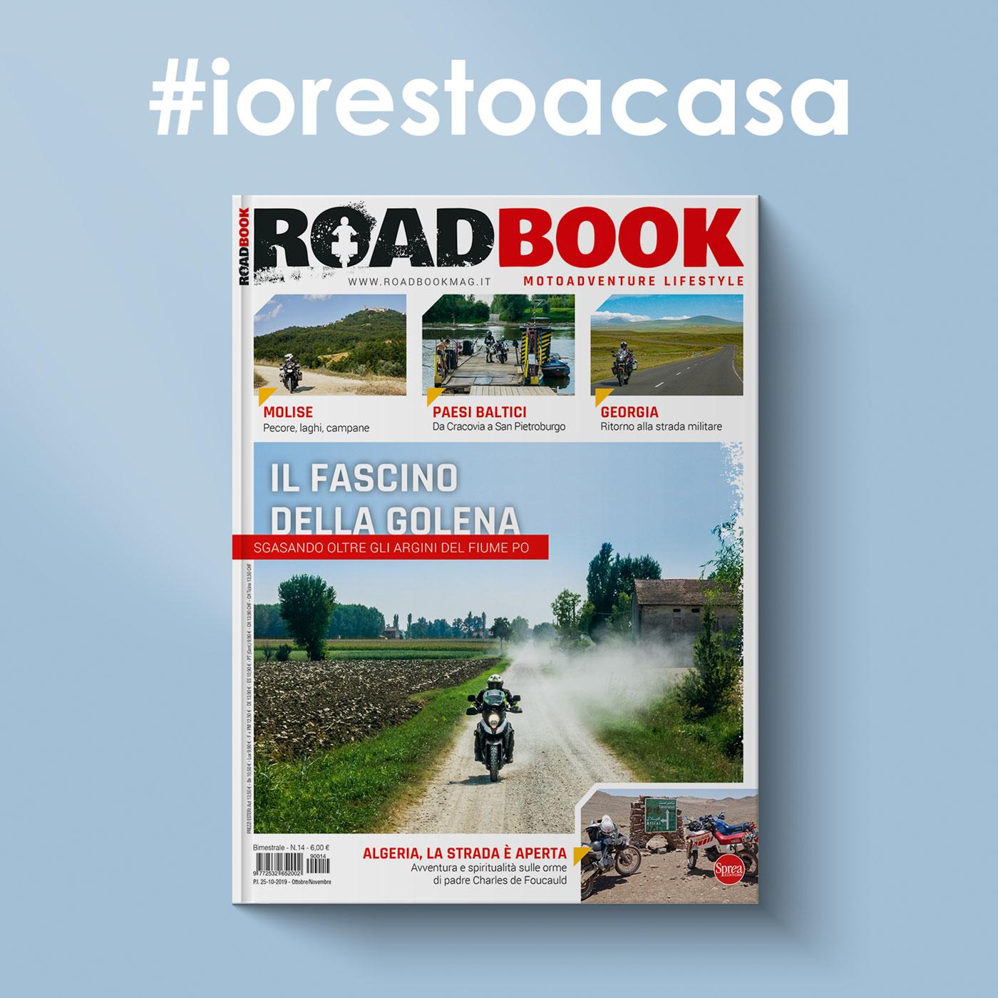 #iorestoacasa con RoadBook